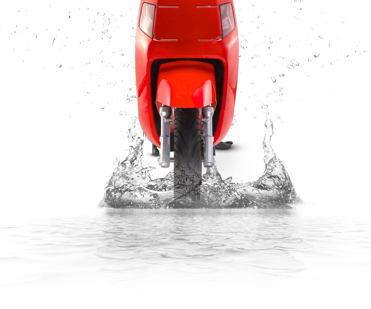 electric scooter water resistant