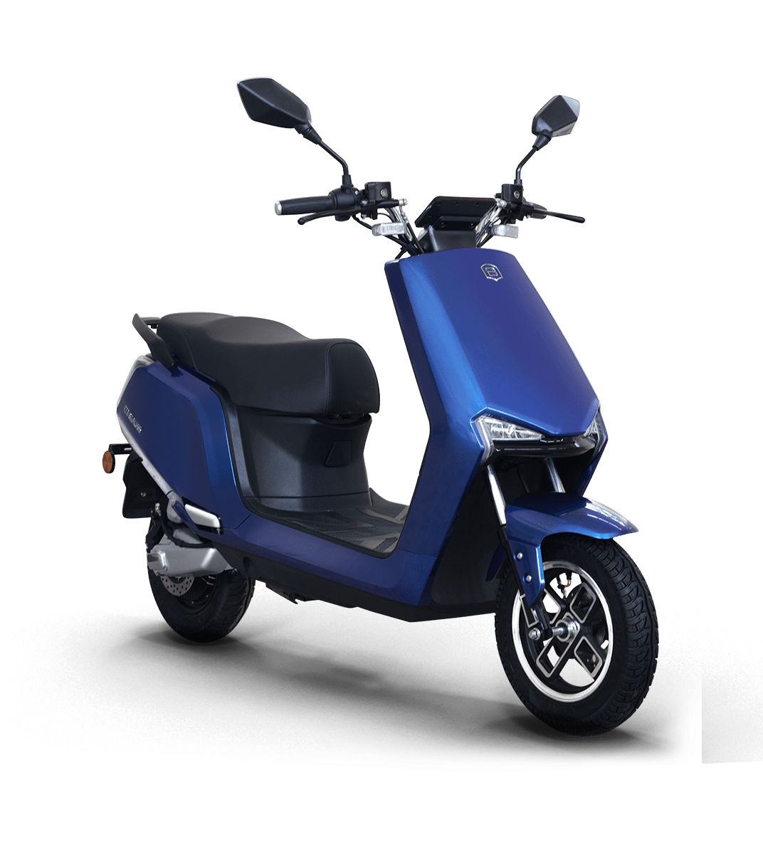 A2_blue electric scooty in india
