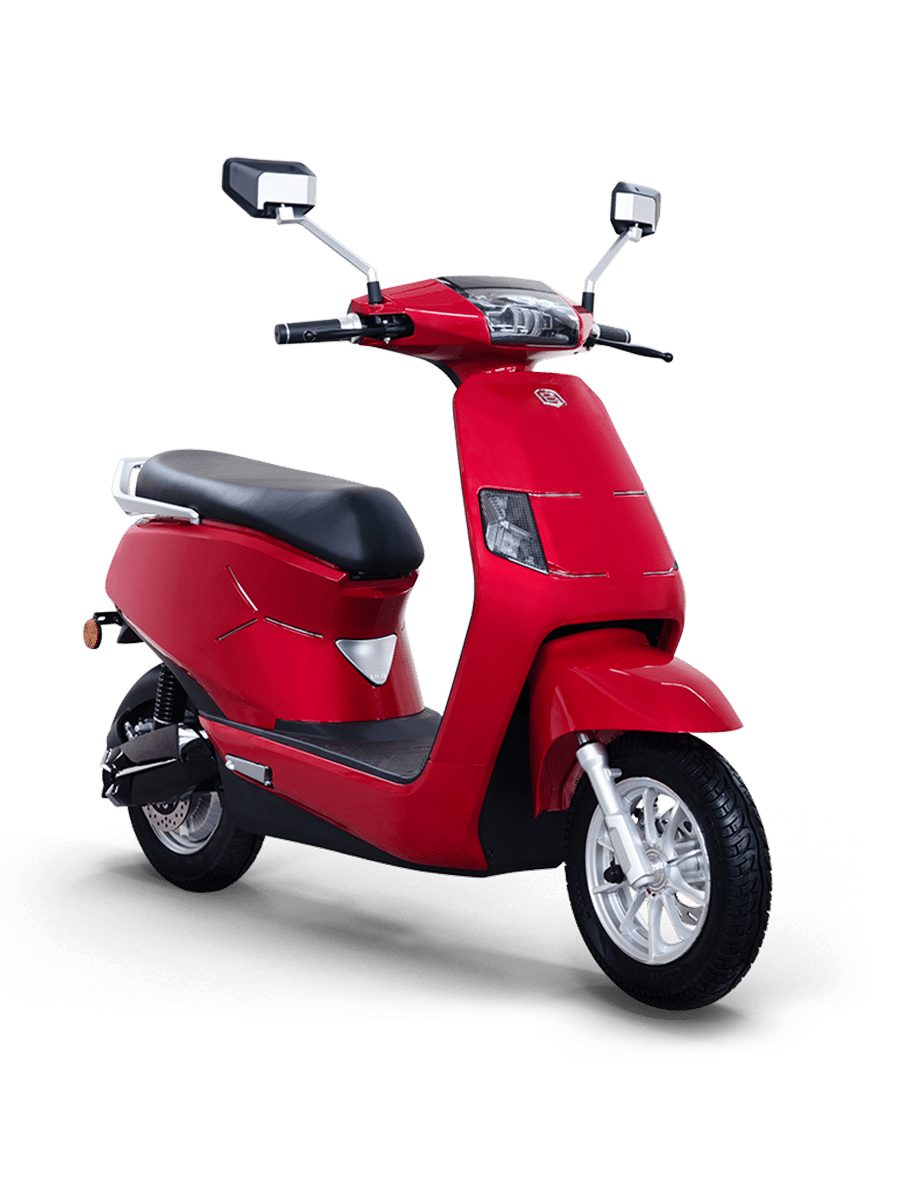 B8 Red Stylish Electric Scooter