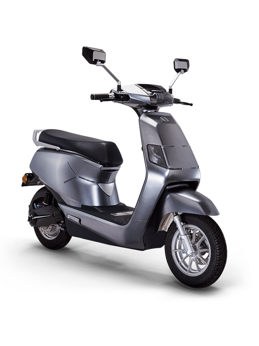 B8 Grey electric Scooter